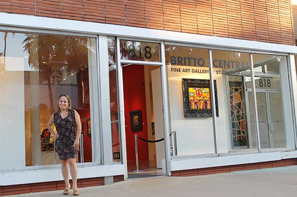 Galeria de Romero Britto em Miami