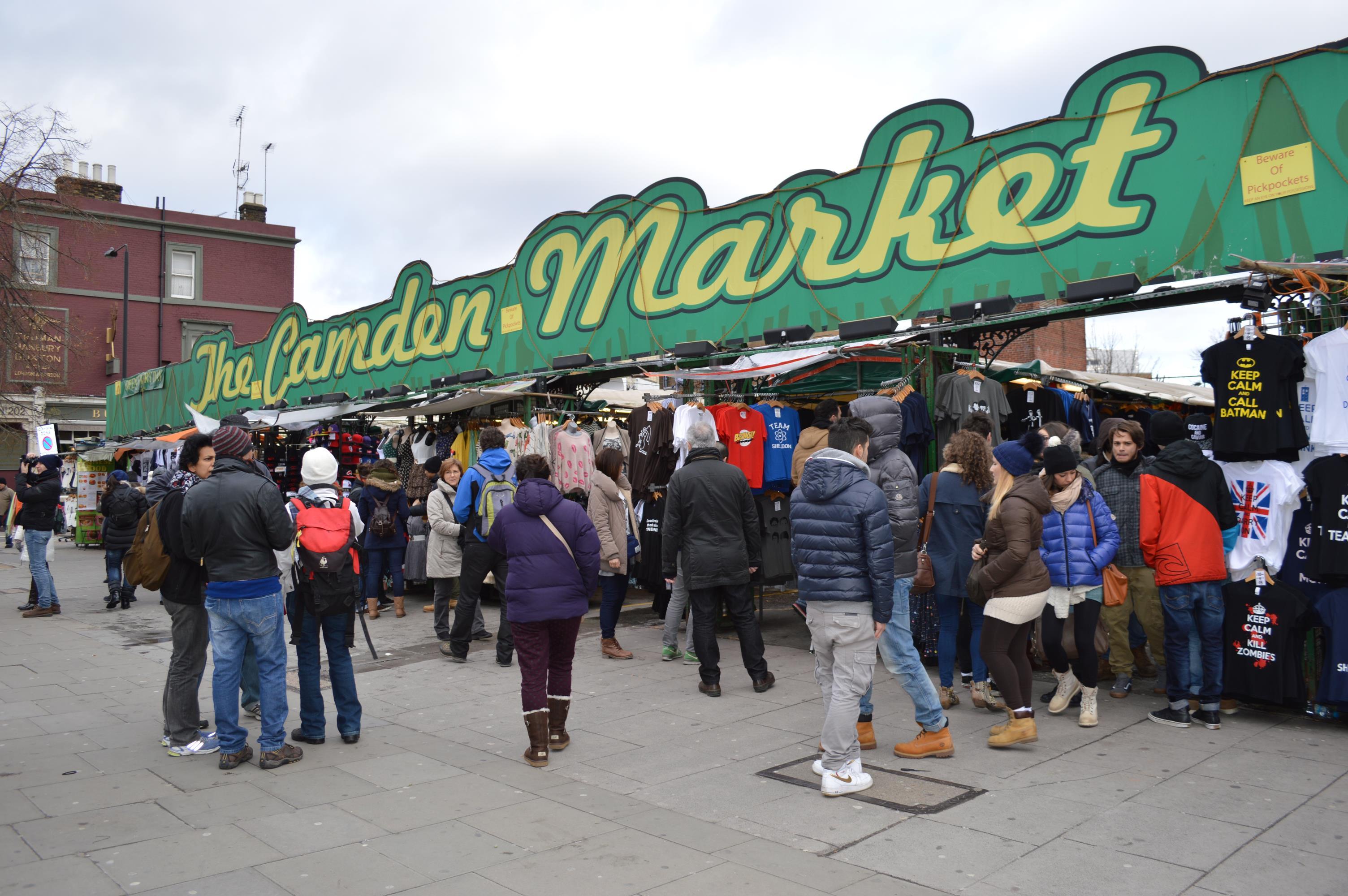 Camden Town, em Londres
