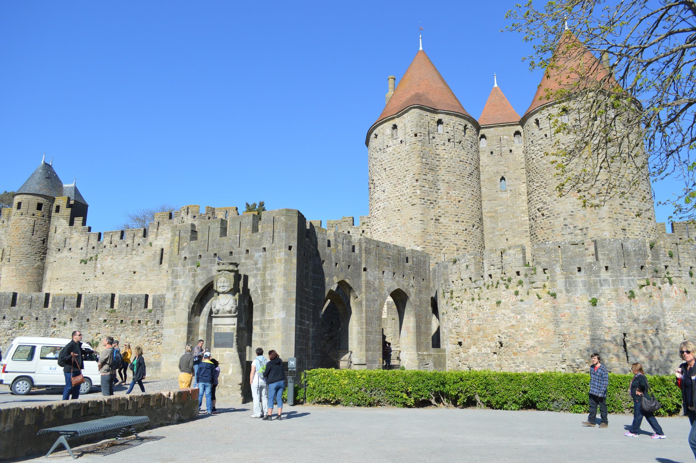 Chateau Comtal, Carcassonne