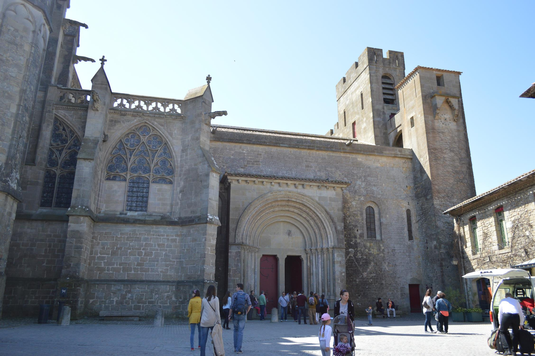 Basílica St. Nazaire, em Carcassonne