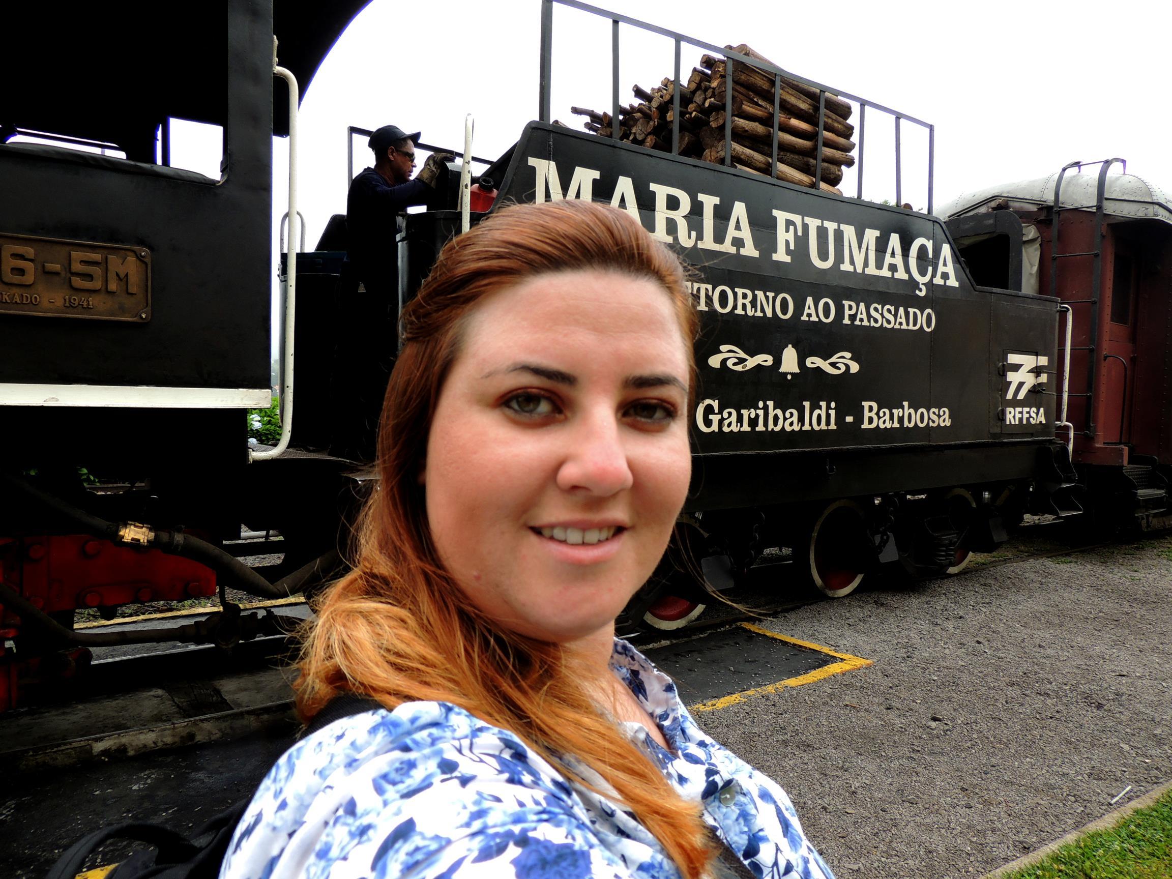 Maria Fumaça, em Bento Gonçalves
