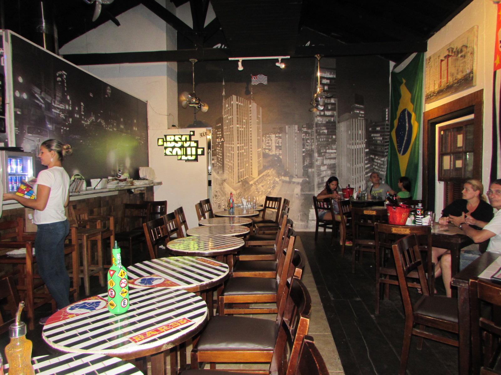 Bar São Paulo, em Ilhabela