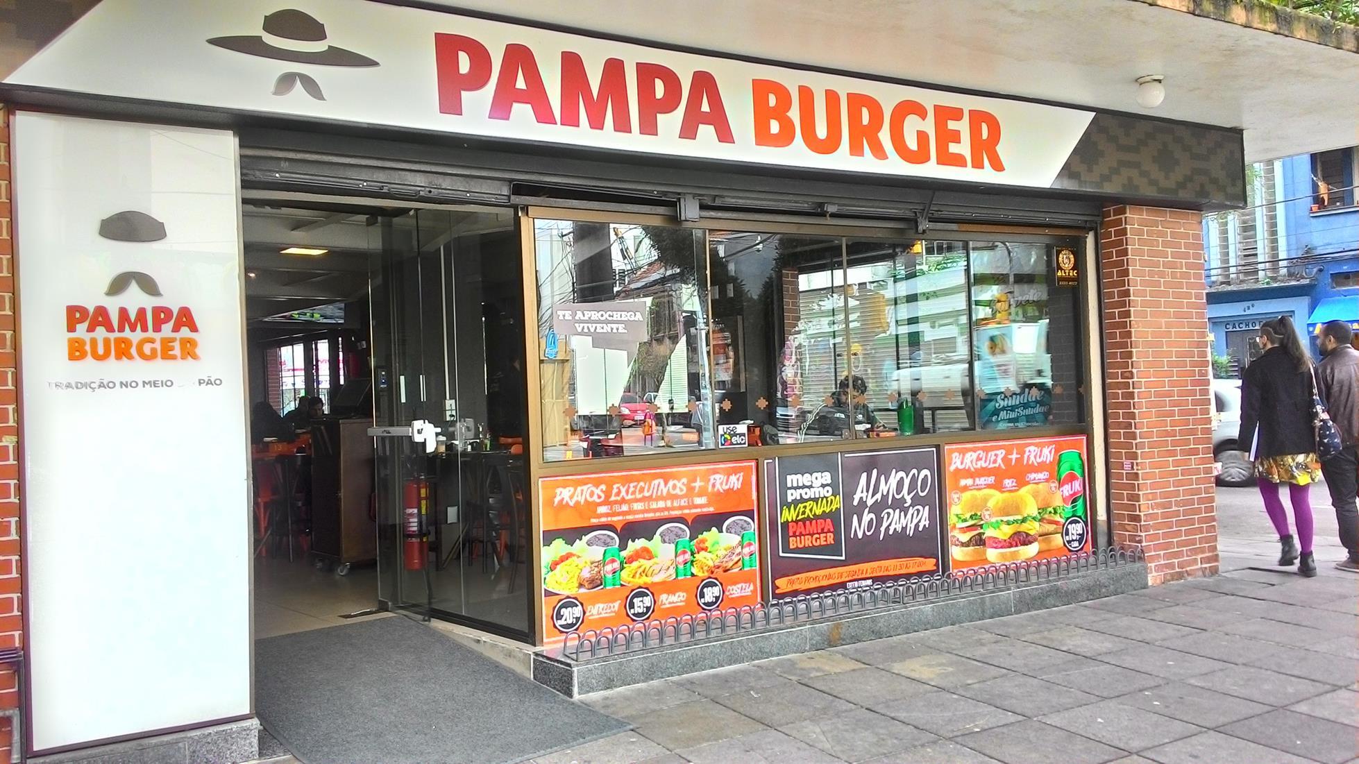 Pampa Burger, em Porto Alegre