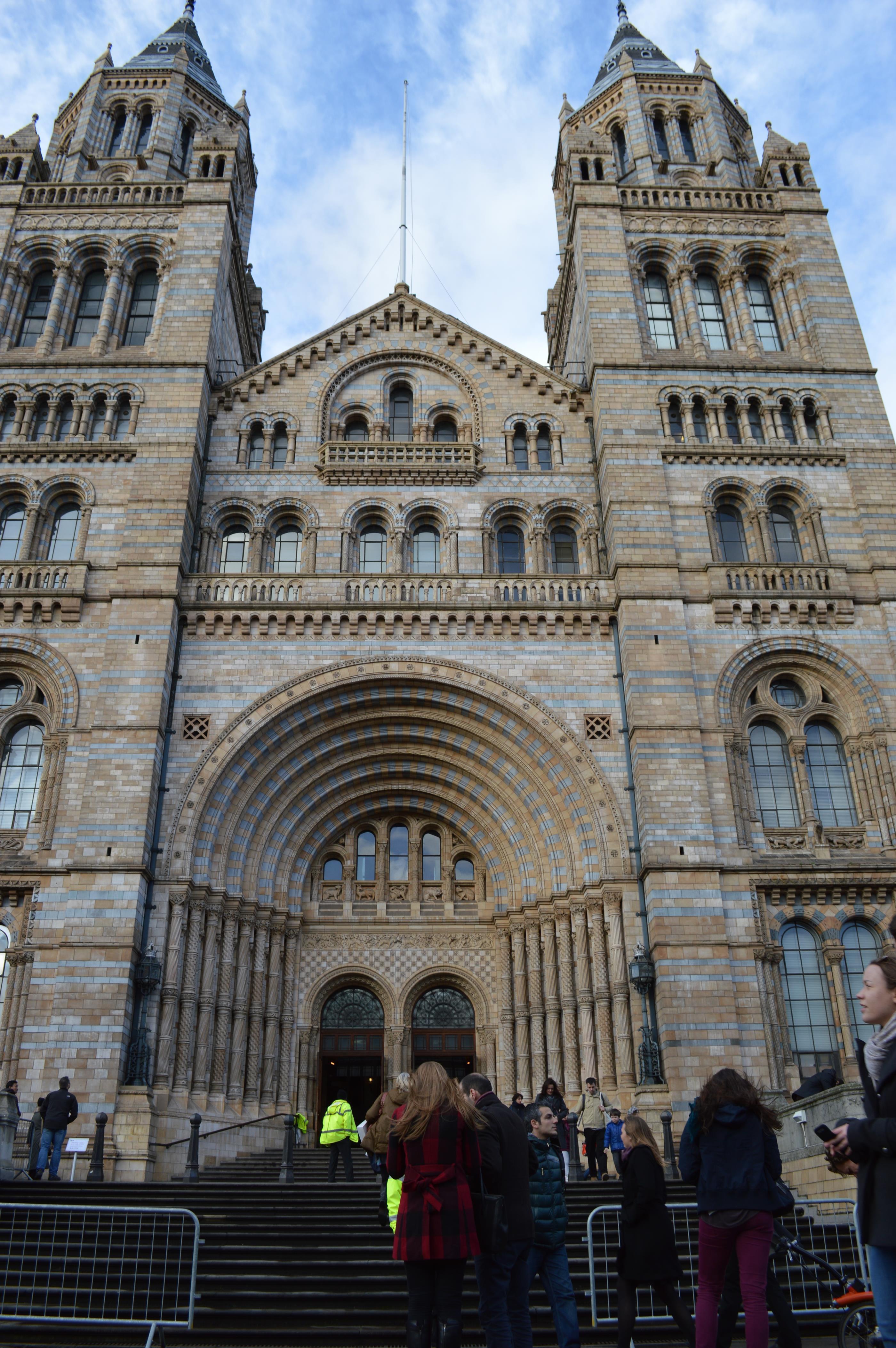 Museu de História Natural, em Londres
