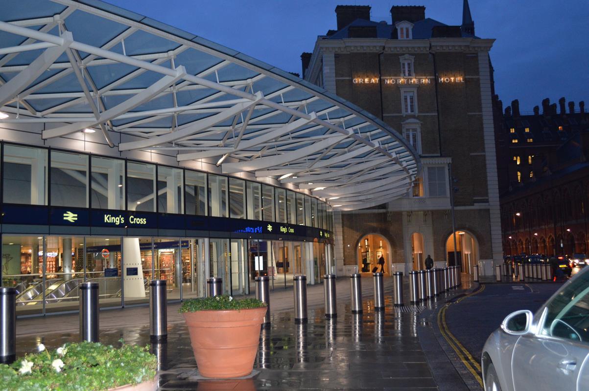 Estação de trem King Cross, em Londres