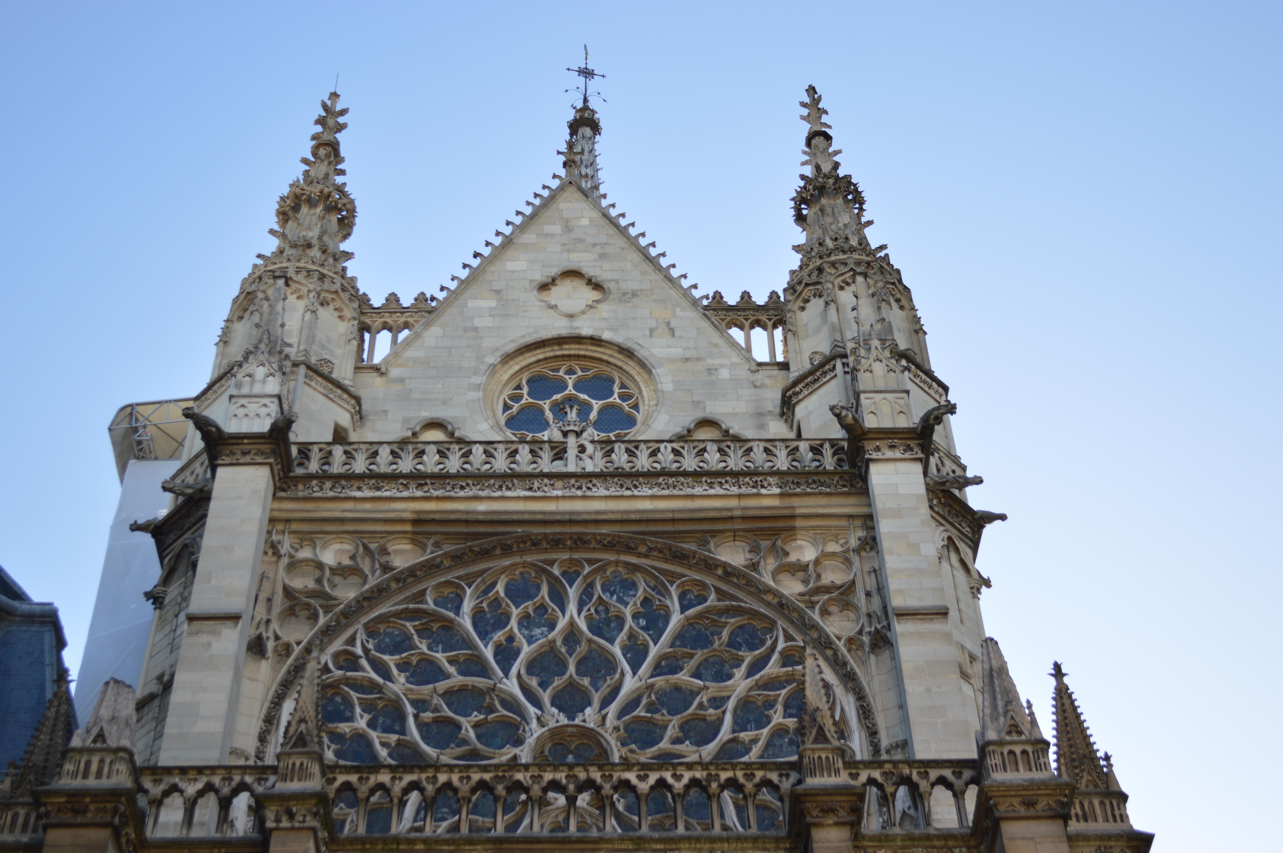 Igreja Sainte Chapelle, em Paris
