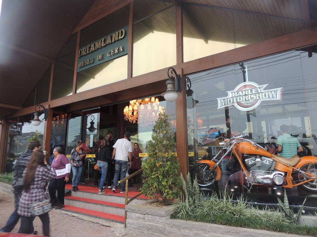 Museu de Cera Dreamland, em Gramado