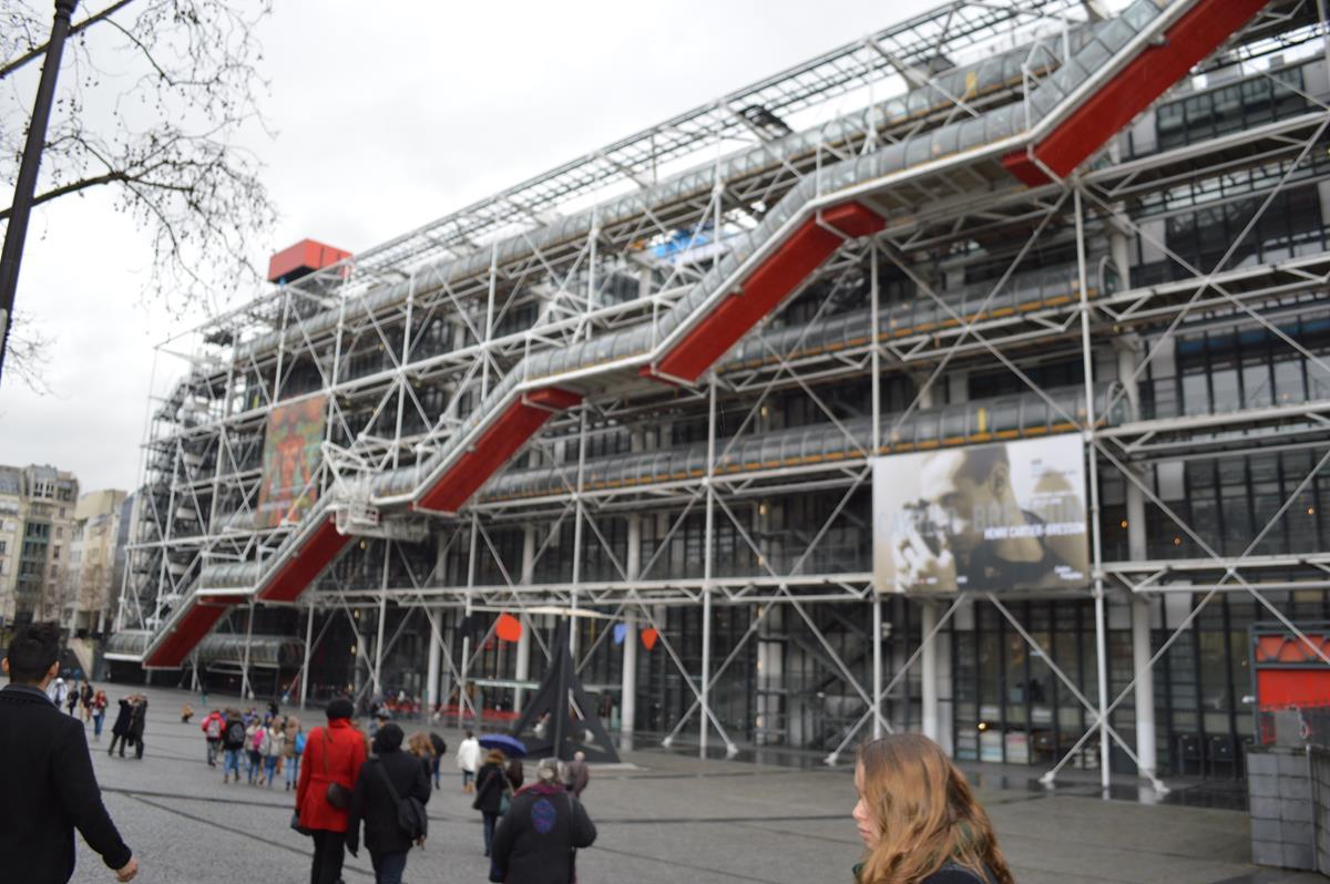 Museu George Pompideu, em Paris