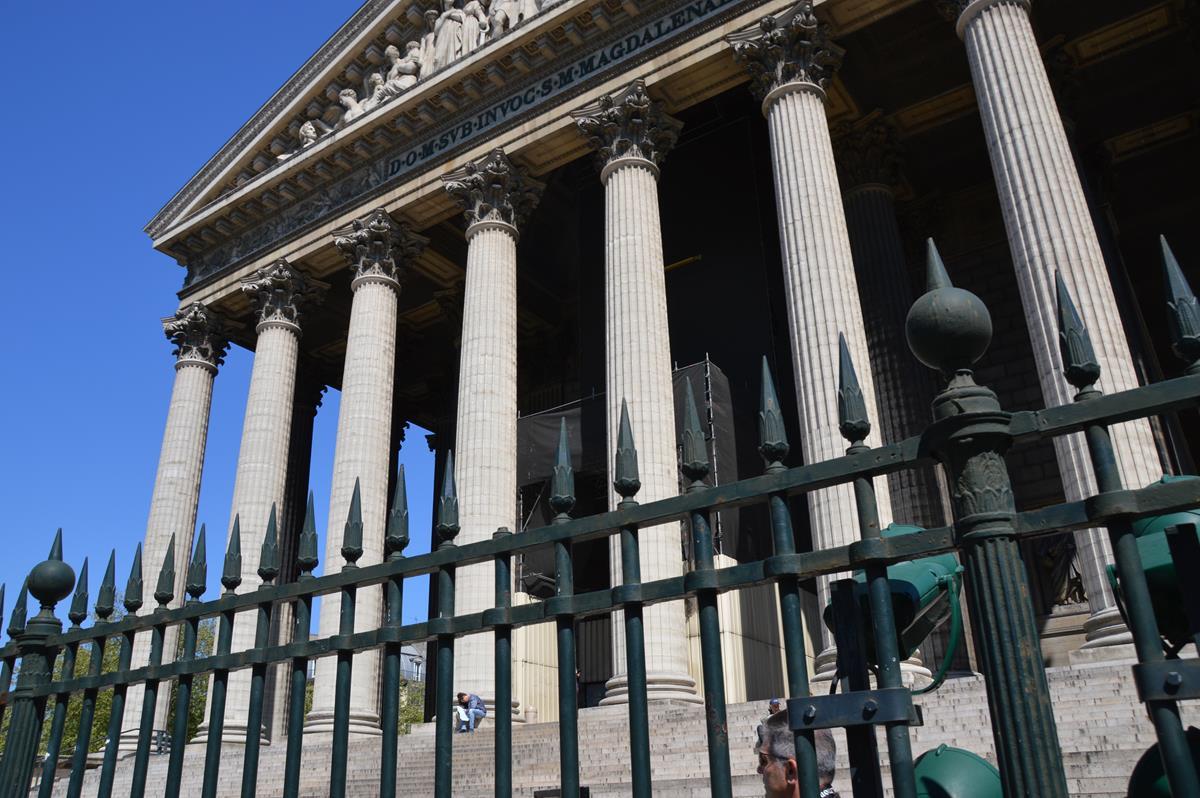 Igreja La Madeleine em Paris