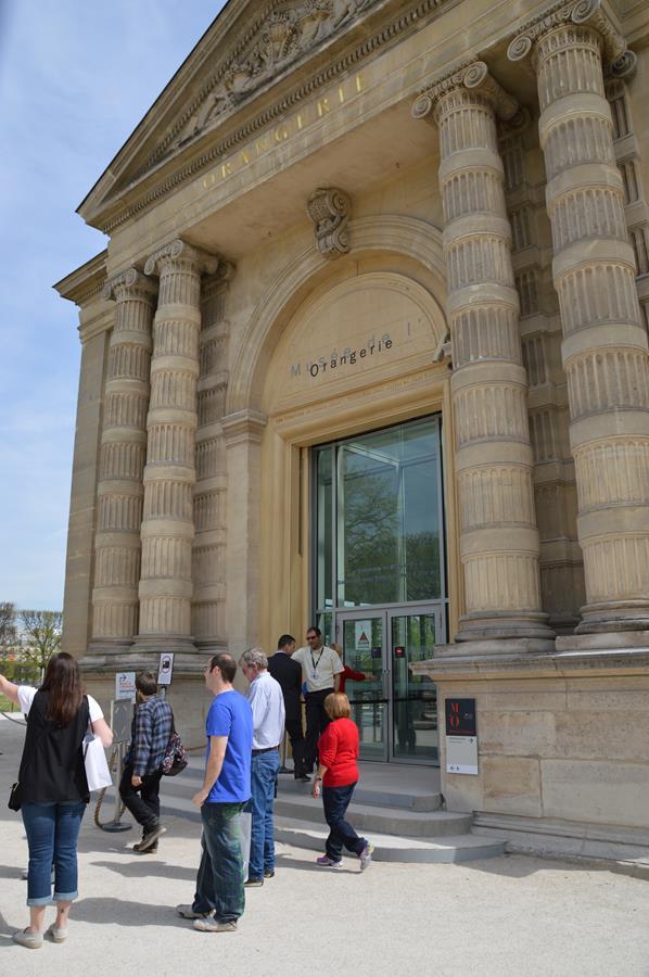 Museu L'Orangerie em Paris
