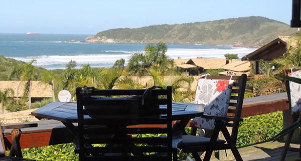 Onde comer na Praia do Rosa?