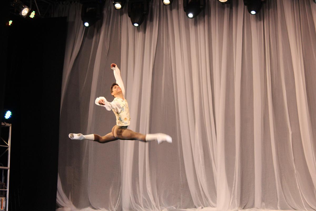 Um espetáculo de dança do Bolshoi Brasil