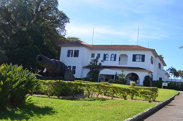Visita à Casa d'Agronômica, residência oficial do governador de Santa Catarina
