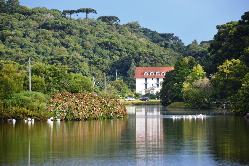 Lago São Bernardo, em São Francisco de Paula