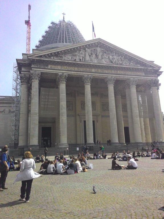Panteão, em Paris