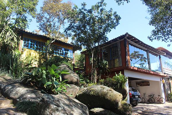 Pousada Casa do Ceo, na Praia do Rosa