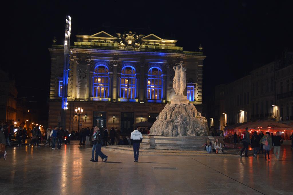 Praça La Comédie, Montpellier