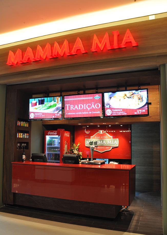 Mamma Mia Express, em Porto Alegre
