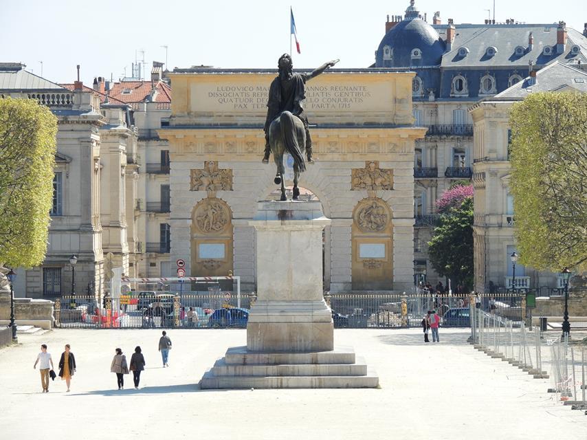 Arco do Triunfo, em Montpellier
