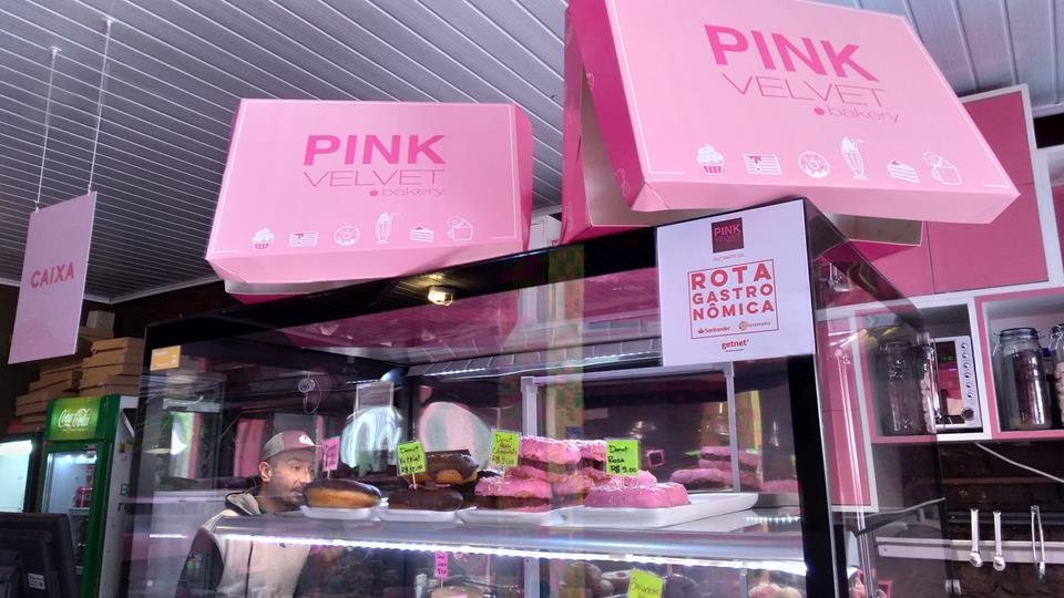 Pink Velvet Bakery, em Porto Alegre