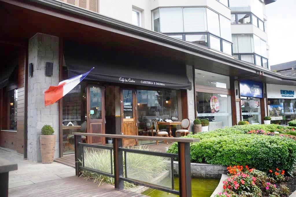 Café du Centre, em Gramado