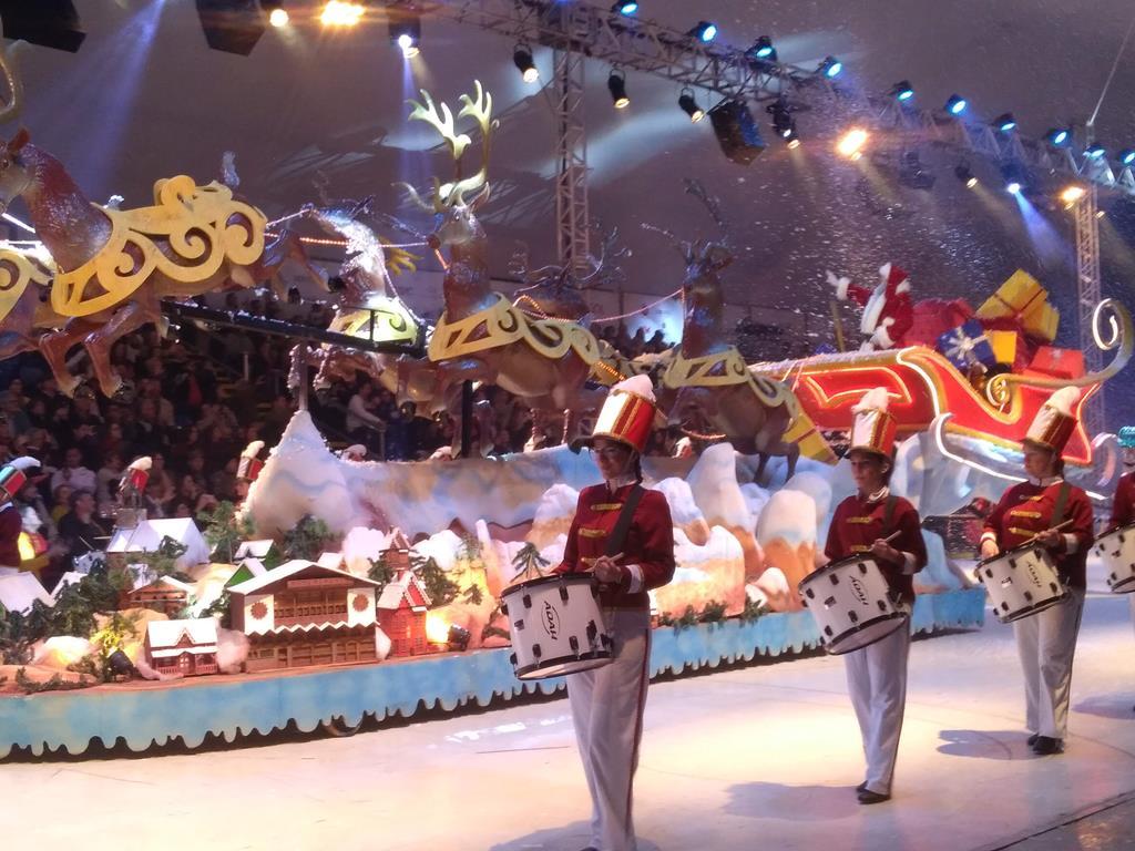 Desfile de Natal, em Gramado